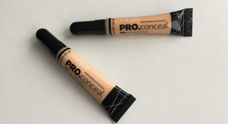 LA Girl Pro Conceal Review and Swatches