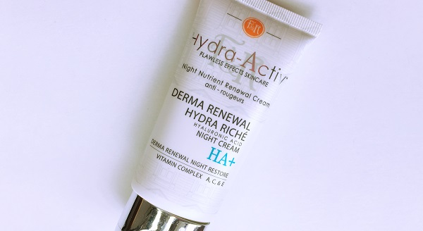 Figs & Rouge Hydra Activ Derma Renewal Hydra Riché Night Cream review