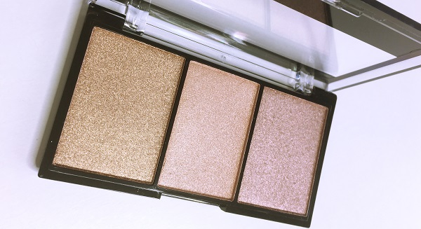 City Color Highlight Trio review swatches