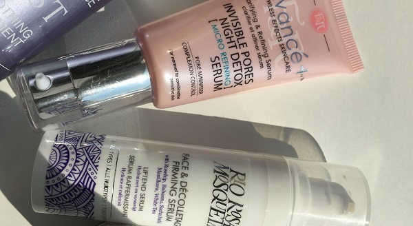 Figs & Rouge and Rio rosa mosqueta Serum