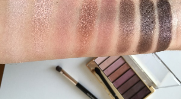 Max Factor Masterpiece Nude Palette Rose Nudes Swatches