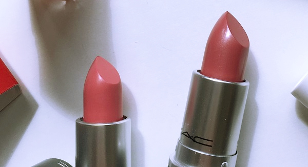 hot gossip lovelorn pink mac lipstick review