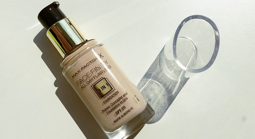 max factor face finity all day flawless 3 in 1 warm almond