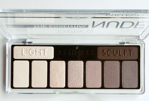 catrice the essential nude collection eyeshadow palette