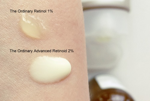 the ordinary retinol vs retinoid formula