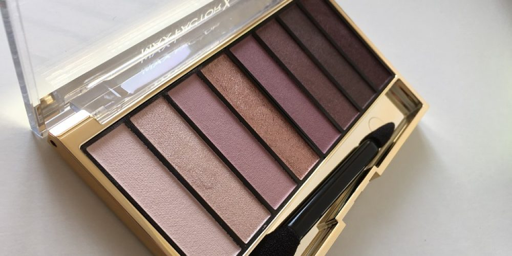 Max Factor Masterpiece Nude Palette | Review + Swatches