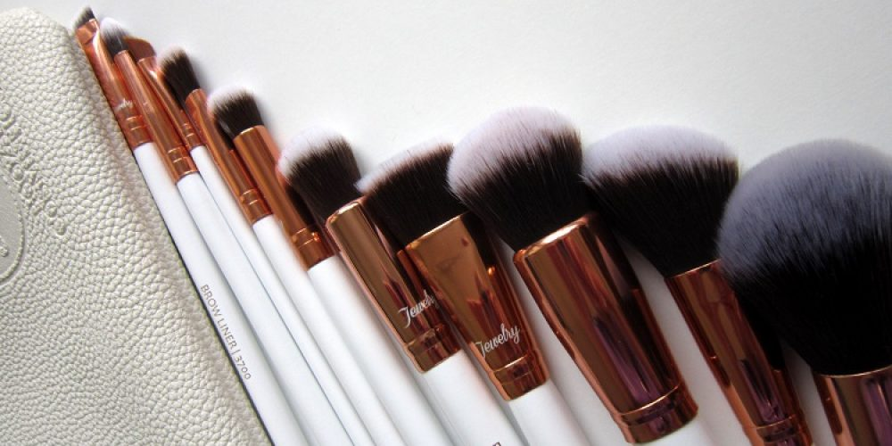 Booozyshop | Rose Golden Brush Set – the best makeup brush set for beginners