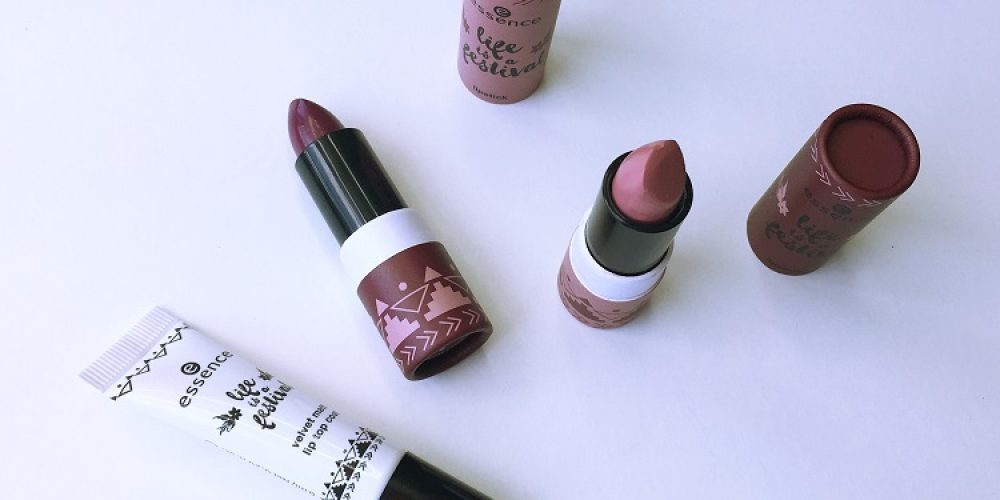 Essence Life is a Festival Lipsticks | Review + Swatches