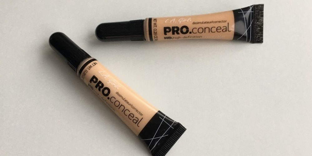 L.A. Girl HD Pro Concealer Review