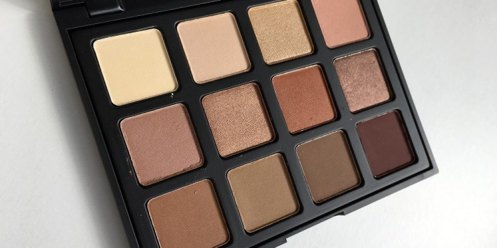 Morphe Brushes 12NB Natural Beauty Palette Review