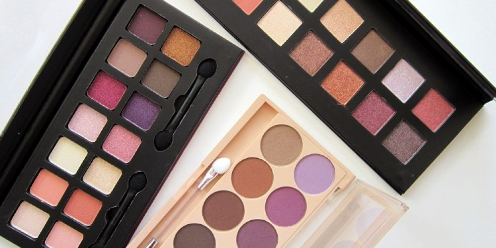 City Color Harvest Moon, Figtastic and Matte Eye Shadow Palette review