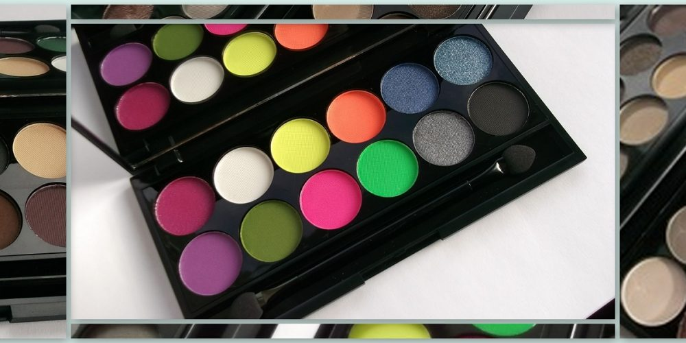 i-Divine Eyeshadow Palettes Review